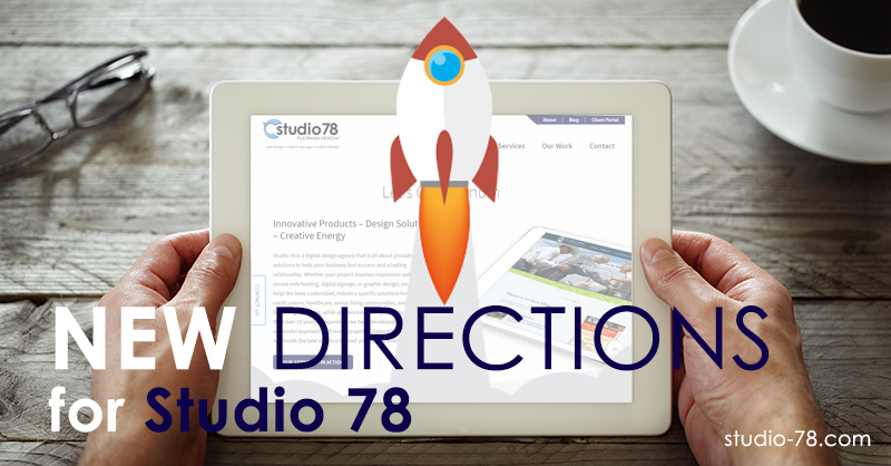 Studio 78: Liftoff! A new site and an accessible direction