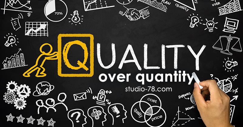 Social Media: Quality Over Quantity